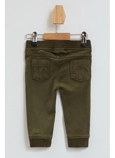 DeFacto Erkek Bebek Regular Fit Örme Pantolon Haki